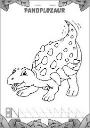 Pisanie literek z dinozaurami część 2 - zdjęcie 4