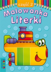 Malowanka - Literki część 2 - zdjęcie 1