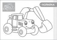 Moja kolorowanka - Pojazdy część 1 - zdjęcie 2