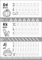 Szlaczki i literki 5-7 lat - zdjęcie 3