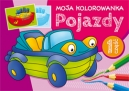 Moja kolorowanka - Pojazdy część 1