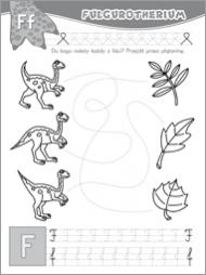Alfabet z dinozaurami część 2 - zdjęcie 6