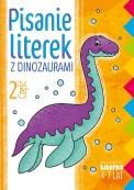 Pisanie literek z dinozaurami część 2