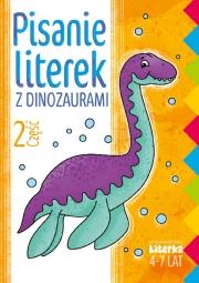 Pisanie literek z dinozaurami część 2 - zdjęcie 1