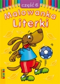 Malowanka - Literki część 6