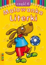 Malowanka - Literki część 6 - zdjęcie 1