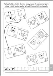 Literki i łamigłówki 6-7 lat - zdjęcie 4