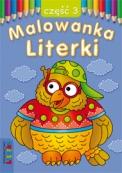 Malowanka - Literki część 3