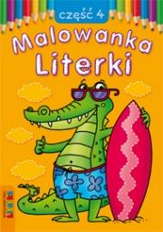 Malowanka - Literki część 4 - zdjęcie 1