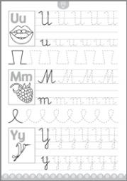 Pisanie literek 4-6 lat - zdjęcie 3