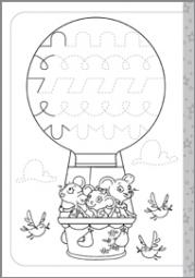 Wesołe szlaczki i literki część 2 - zdjęcie 3