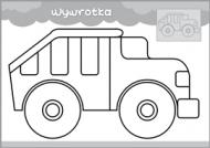 Pojazdy - malowanka malucha część 3 - zdjęcie 3