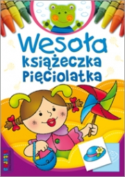Wesoła książeczka pięciolatka - zdjęcie 1