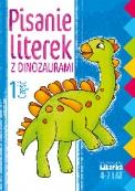 Pisanie literek z dinozaurami część 1