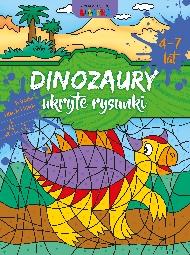 Dinozaury - Ukryte rysunki - zdjęcie 1