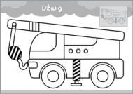 Pojazdy - malowanka malucha część 3 - zdjęcie 4