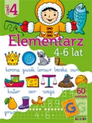 Elementarz 4-6 lat część 4 - zdjęcie 1