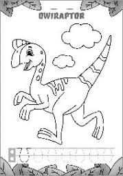 Pisanie literek z dinozaurami część 1 - zdjęcie 3