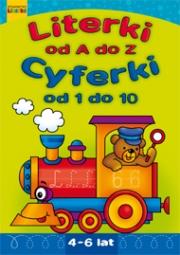 Literki od A do Z. Cyferki od 1 do 10. - zdjęcie 1