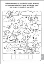 Literki i łamigłówki 5-6 lat - zdjęcie 3
