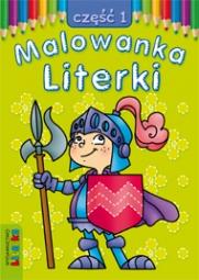 Malowanka - Literki część 1 - zdjęcie 1