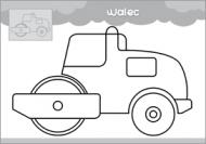 Pojazdy - malowanka malucha część 1 - zdjęcie 4