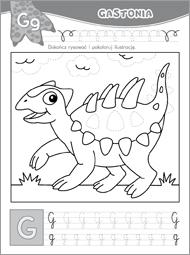 Alfabet z dinozaurami część 2 - zdjęcie 3