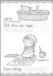Literki i szlaczki 6-7 lat - zdjęcie 3