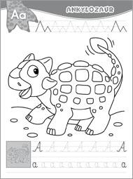 Alfabet z dinozaurami część 1 - zdjęcie 3