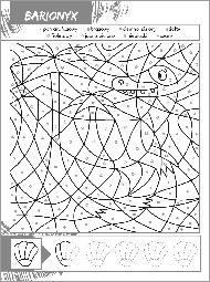 Dinozaury - Ukryte rysunki - zdjęcie 3